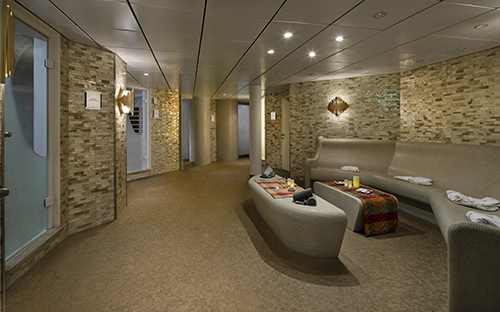 Spa Persion Garden on board ship