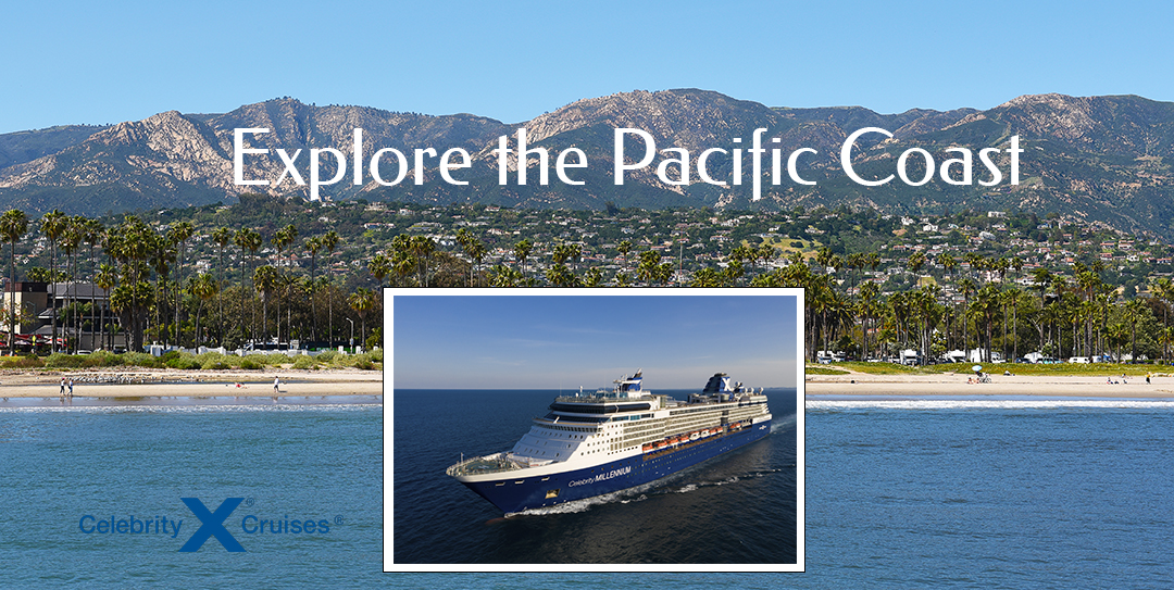 Explore the Pacific Coast Graphic